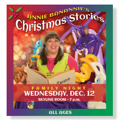 Family Night Annie Banannie's Christmas Stories