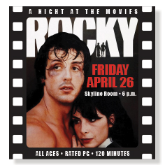 Night at the Movies Rocky