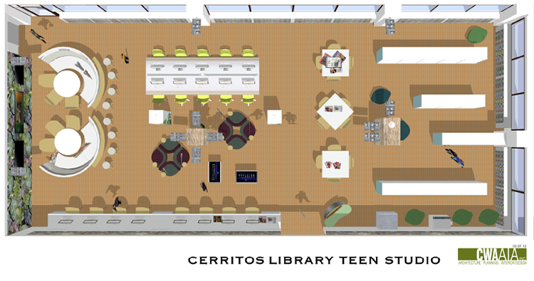 Teen Studio Floorplan