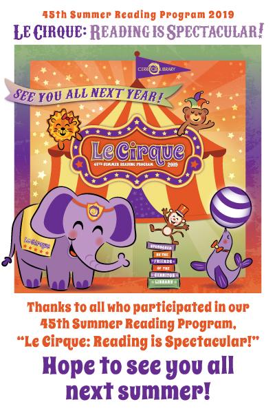 Cerritos Children's Library: Summer Reading Program